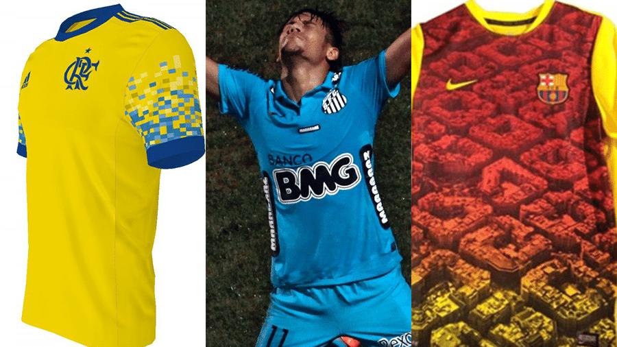 11dad87cca7b7 Cada uma destas camisas de futebol tem um significado. Você sabe qual é