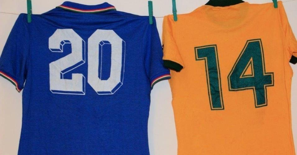 Camisa Paolo Rossi Camisa Juninho Fonseca 82