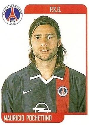 MAURICIO POCHETTINO, técnico do Tottenham, foi zagueiro do PSG e da seleção argentina no começo dos anos 2000