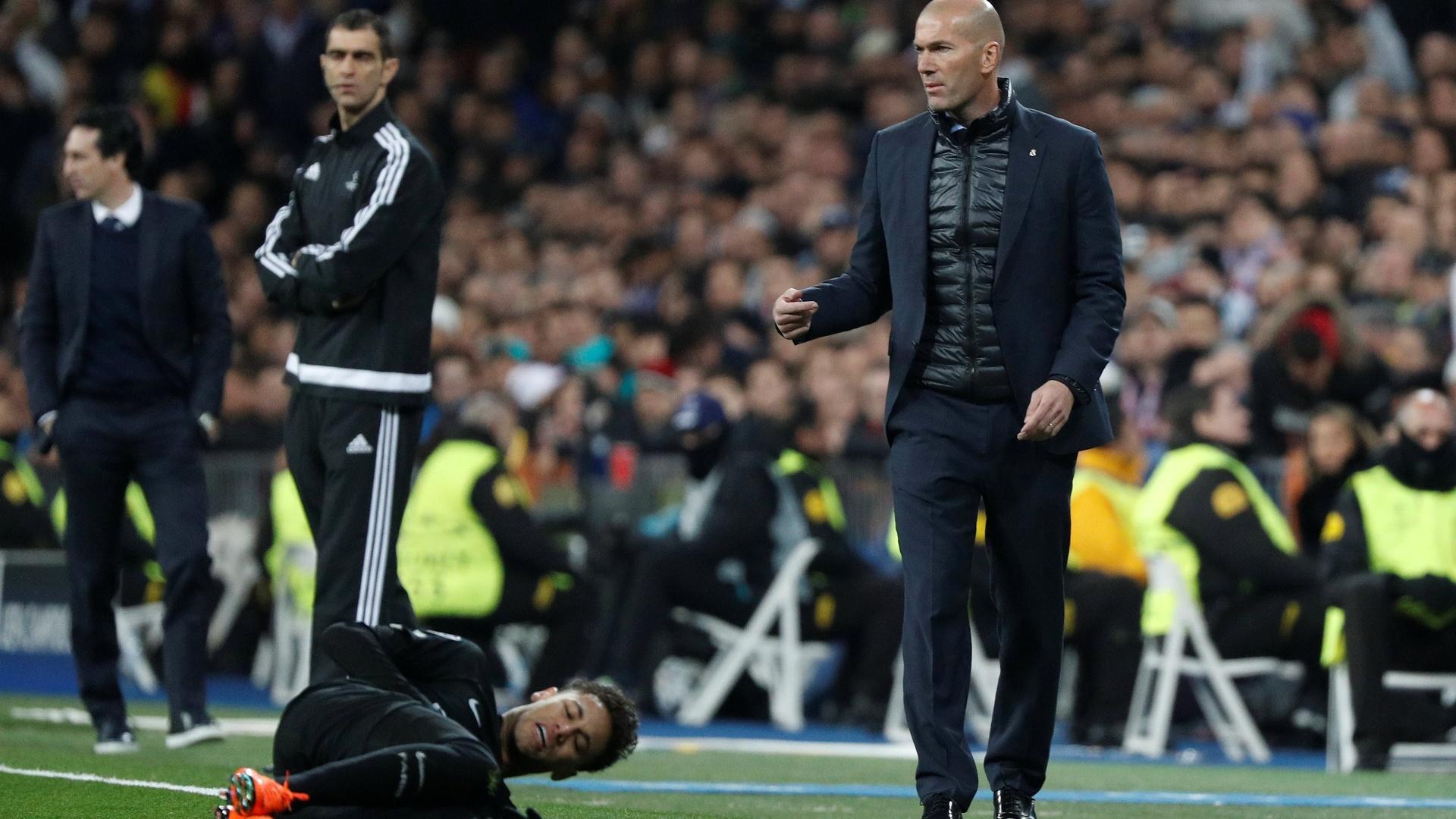 Zidane orienta o Real Madrid
