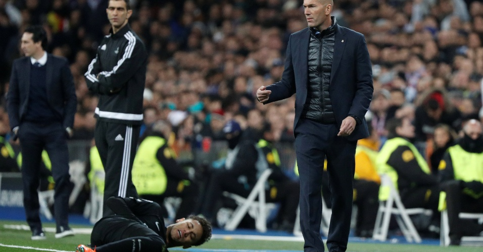 Zidane orienta o Real Madrid