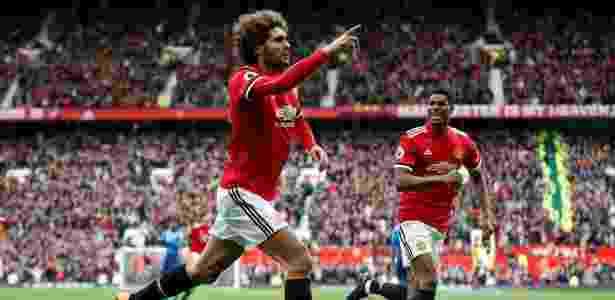 Fellaini chegou ao Manchester United na temporada 2013 e soma 156 jogos pelo clube - Reuters/Carl Recine