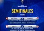 Conmebol confirma detalhes das semifinais entre Atlético-PR e Fluminense - Reprodução