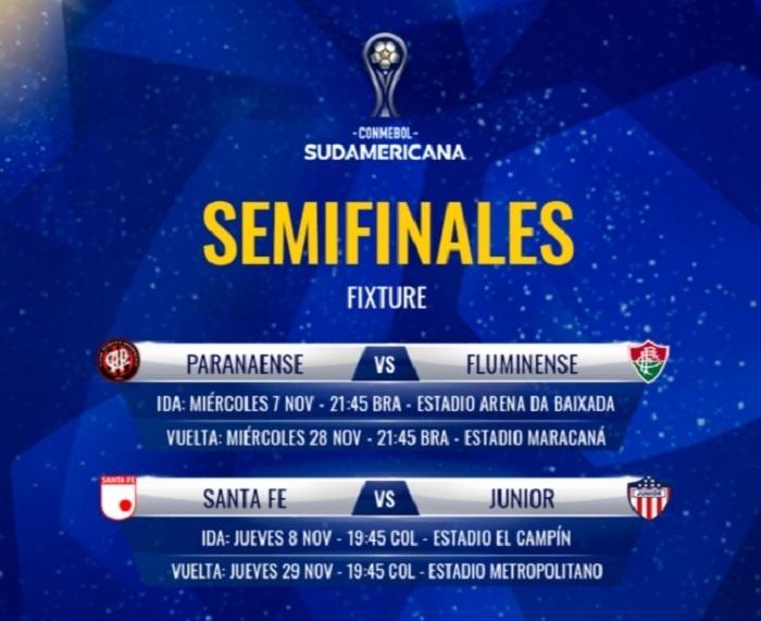 Conmebol confirma detalhes das semifinais entre Atlético-PR e Fluminense -  02 11 2018 - UOL Esporte ba221e7c859bd