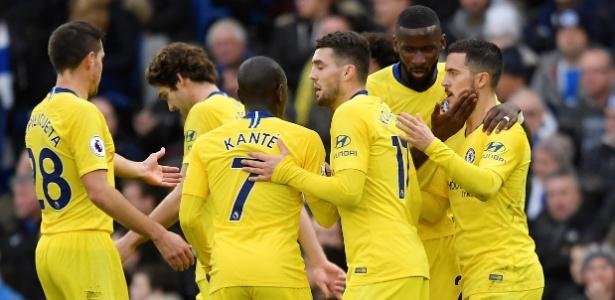 Cantos antissemitas foram ouvidos enquanto torcedores do Chelsea voltavam da partida contra o Brighton - Toby Melville/Reuters