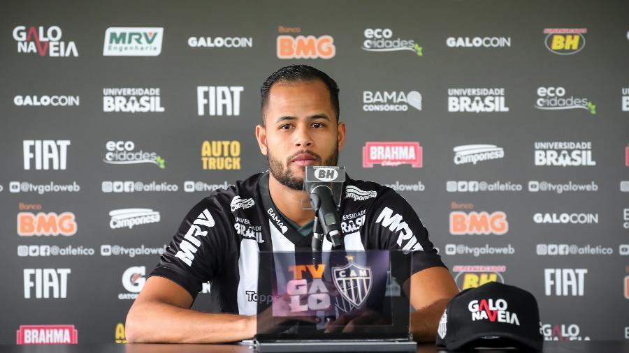 Geuvânio é apresentado pelo Atlético-MG - Bruno Cantini/Divulgação/Atlético-MG