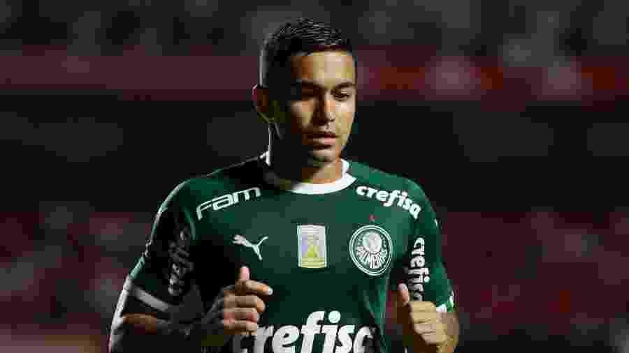 Dudu, do Palmeiras, enfrenta o São Paulo no Morumbi - Marcello Zambrana/AGIF