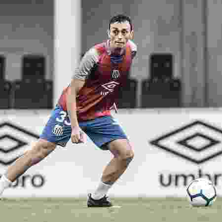 Pituca em treino do Santos -  Ivan Storti/Santos FC