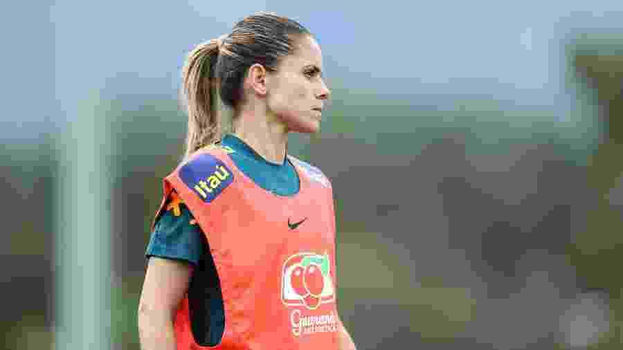 Erika, zagueira da Seleção Brasileira Feminina - Rener Pinheiro / MoWA Press