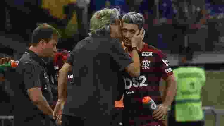 Jesus ganhou respeito dos jogadores do Flamengo - Fernando Moreno/AGIF