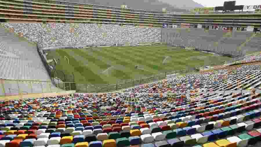 Estádio Monumental de Lima receberá a final da Libertadores entre Flamengo e River - Fernando Donasci/Folhapress