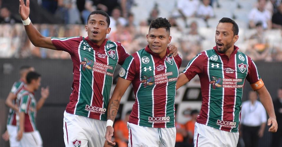 Nenê, Evanílson e Marcos Paulo fizeram 16 dos 26 gols do Fluminense em 2020