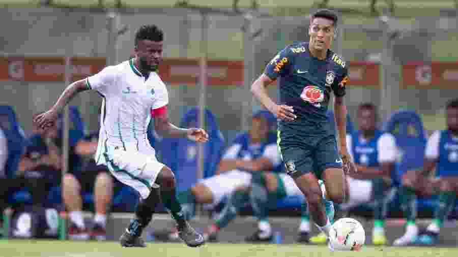 Pedrinho, do Corinthians, é uma das estrelas da seleção na competição - Lucas Figueiredo/CBF