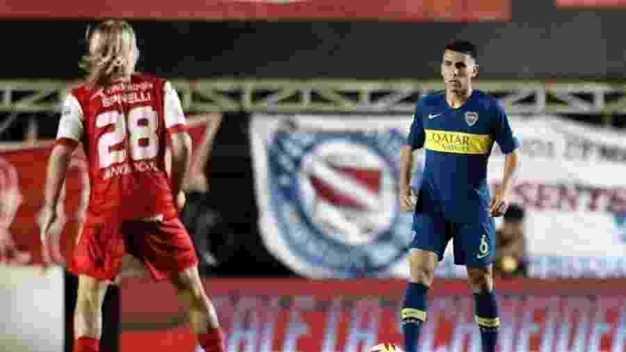 Junior Alonso, ex-zagueiro do Boca Juniors, é o novo reforço do Atlético-MG no mercado da bola - Divulgação
