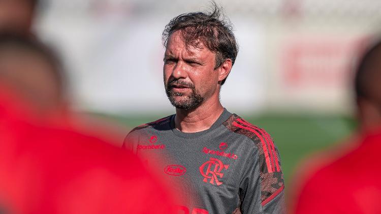 Maurício Souza, do sub-20, vai comandar o Flamengo no início do Carioca 2021 - Marcelo Cortes / Flamengo - Marcelo Cortes / Flamengo