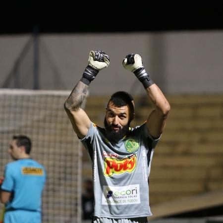 Alex Muralha defendeu o Mirassol na última edição do Campeonato Paulista - Marcos Freitas/ Mirassol