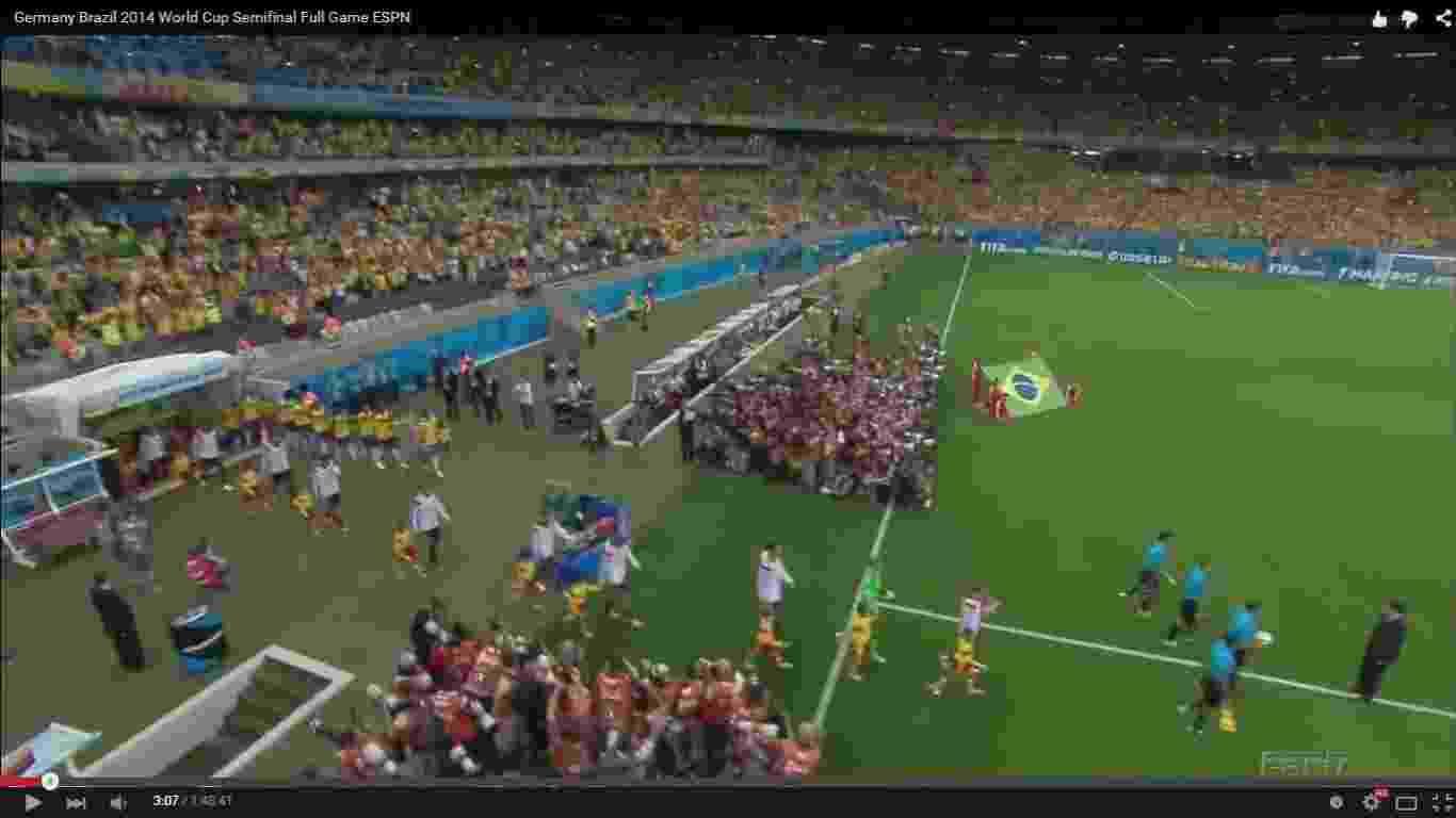 O 7 a 1 como você nunca viu! Neste álbum, vamos mostrar detalhes do maior vexame da história do futebol brasileiro. Foi mesmo um apagão? O que fez o Brasil perder? Quem trabalhou mais, Neuer ou Júlio César? Veja tudo isso a seguir, sempre a partir de imagens do próprio jogo - Reprodução