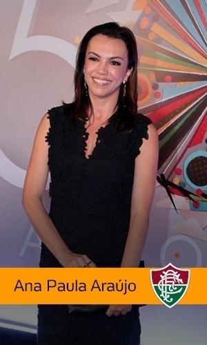 Ana Paula Araújo (Rede Globo): Fluminense