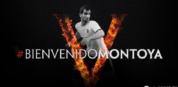 Montoya é anunciado como novo reforço do Valencia