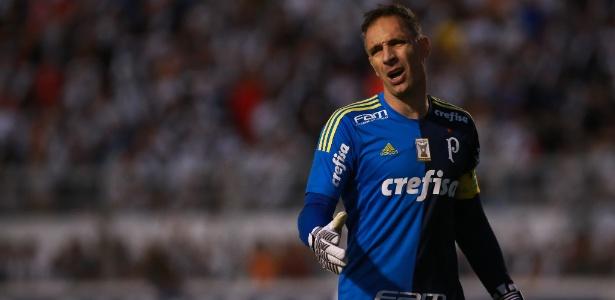 Fernando Prass admite chateação com indefinição de contrato no Palmeiras