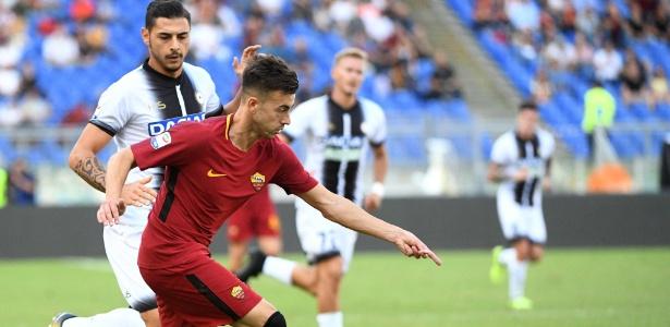 Stephan El Shaarawy foi o destaque da vitória da Roma no Campeonato Italiano