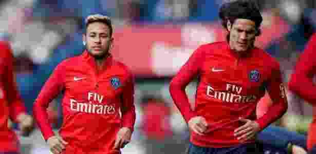 Para Cavani, não é preciso ser amigo de Neymar - REUTERS/Benoit Tessier