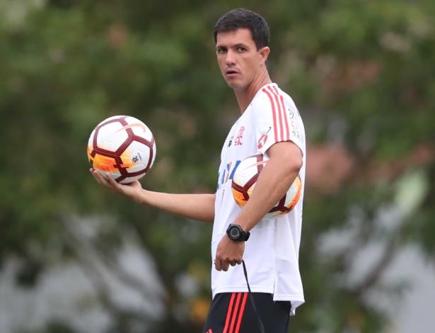 Mauricio Barbieri vive situação delicada no Flamengo por conta dos maus resultados - Gilvan de Souza/Flamengo