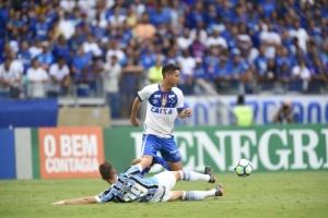 Thiago Neves elogia dedicação do Cruzeiro e valoriza ponto conquistado fora (Foto: Washington Alves/Light Press)