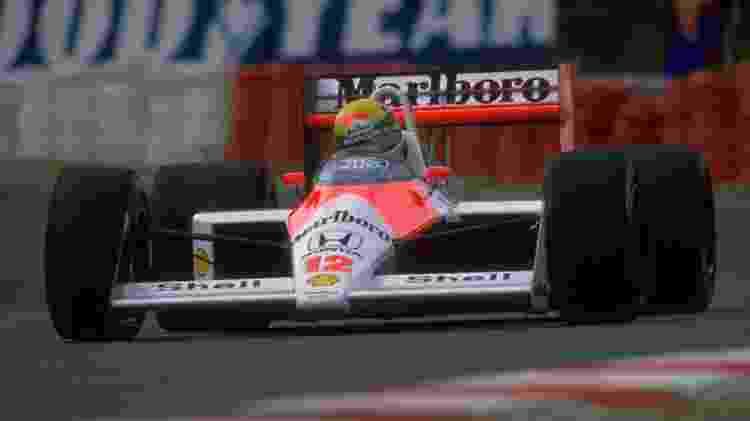 Ayrton Senna foi campeão pela McLaren na temporada de 1988 - Pascal Rondeau/Allsport/Getty - Pascal Rondeau/Allsport/Getty