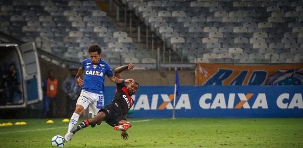 Debaixo de chuva, público contra o Vitória foi o menor da Raposa no novo Mineirão - Vinnicius Silva/Cruzeiro