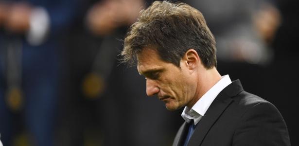 Contrato de treinador não será renovado; ainda não há nomes de possíveis substitutos - Gabriel Bouys/AFP
