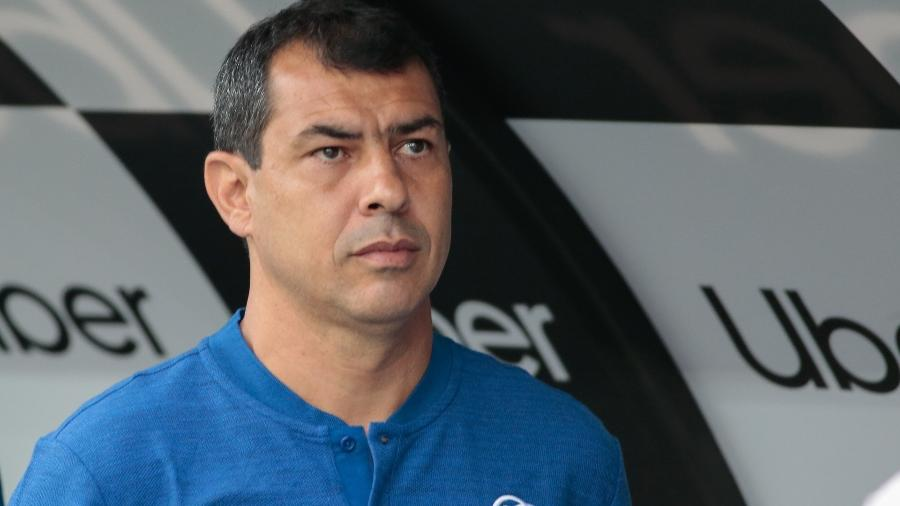 Técnico Fábio Carille ainda tem pouco mais de R$ 22 milhões para gastar em contratações ao longo da temporada - Marcello Zambrana/Agif