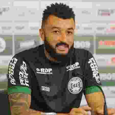Goleiro Alex Muralha é apresentado no Coritiba - Divulgação/Coritiba Foot Ball Club