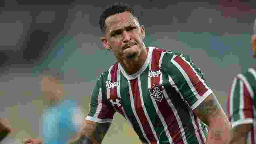 Luciano, do Fluminense, está perto de ser contratado pelo Grêmio para sequência da temporada - Thiago Ribeiro/AGIF