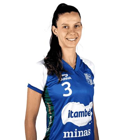 Macris, levantadora do Minas na Superliga 2018/19 - Divulgação/Minas