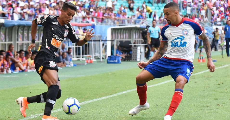 Pedrinho Bahia Corinthians Campeonato Brasileiro