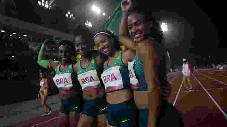 O quarteto feminino venceu sua final com folga - Alexandre Loureiro/COB