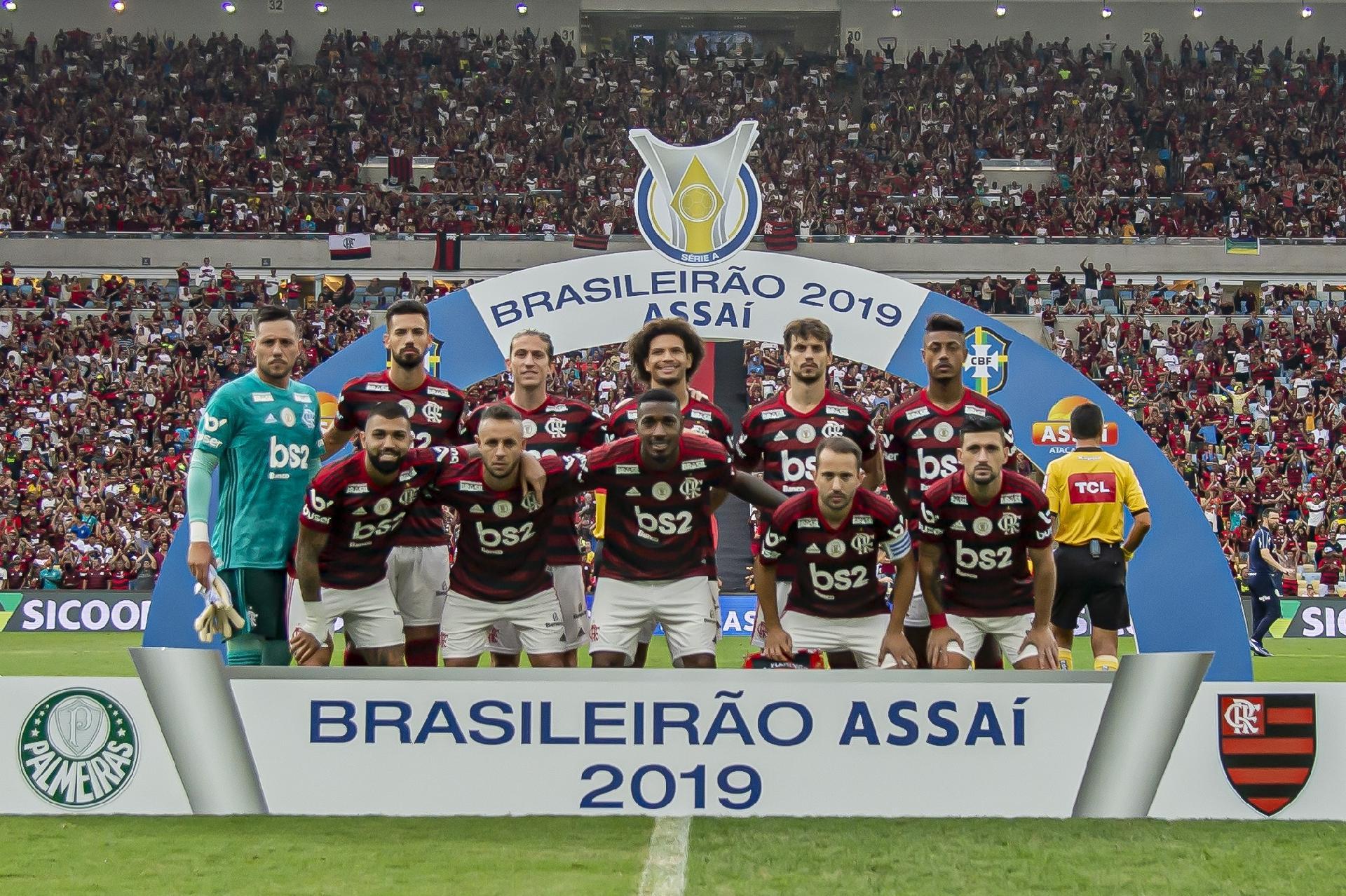 Pôster Do Flamengo Campeão Do Brasileirão 2019