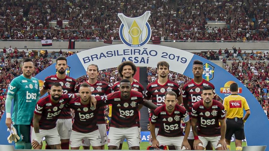 O time-base do Flamengo que brilhou e conquistou o Brasileirão 2019 - Alexandre Vidal & Marcelo Cortes/Flamengo