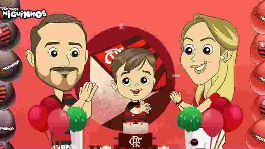 """""""Flamiguinhos"""", canal infantil do Flamengo, já está disponível no Youtube - Reprodução"""