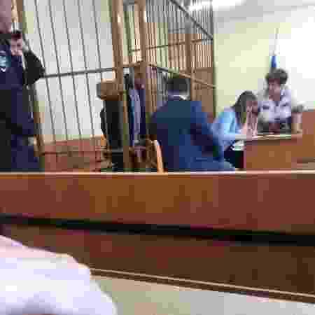 Tribunal russo onde o brasileiro Robson terá se destino definido: preso desde março de 2019 - Reprodução