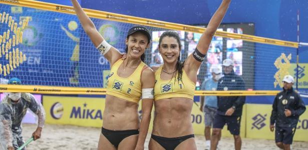 Atleta protestou na TV | CBV repudia fala contra Bolsonaro: