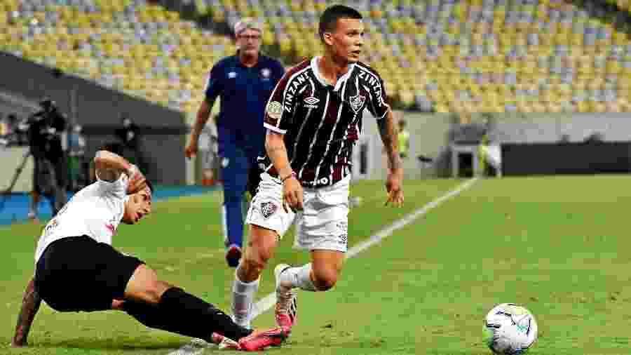 Calegari voltou ao time e foi um dos destaques do Fluminense nos dois últimos jogos do Brasileirão - Mailson Santana/Fluminense FC