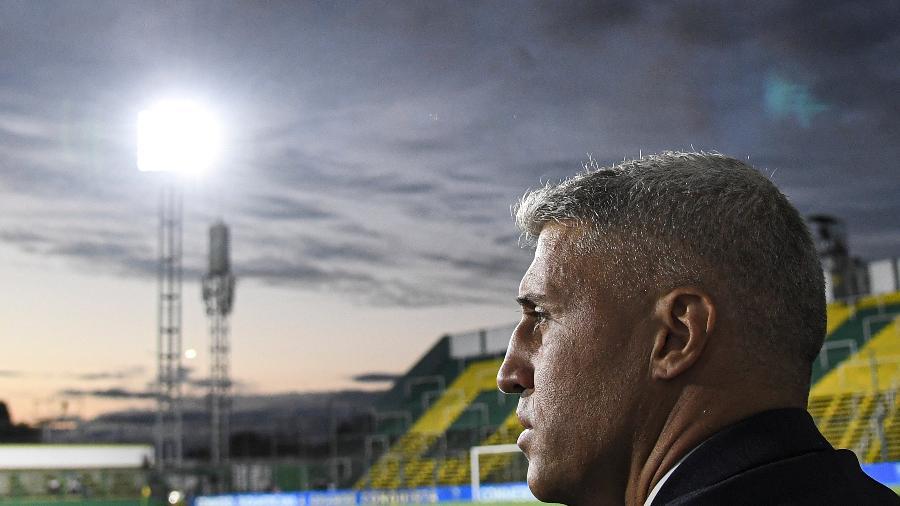 Ex-atacante de River, Inter e Milan, Hernán Crespo é técnico do Defensa y Justicia - Divulgação Conmebol
