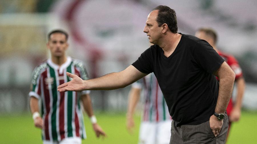 Rogério Ceni durante final do Campeonato Carioca no Maracanã - Jorge Rodrigues/AGIF