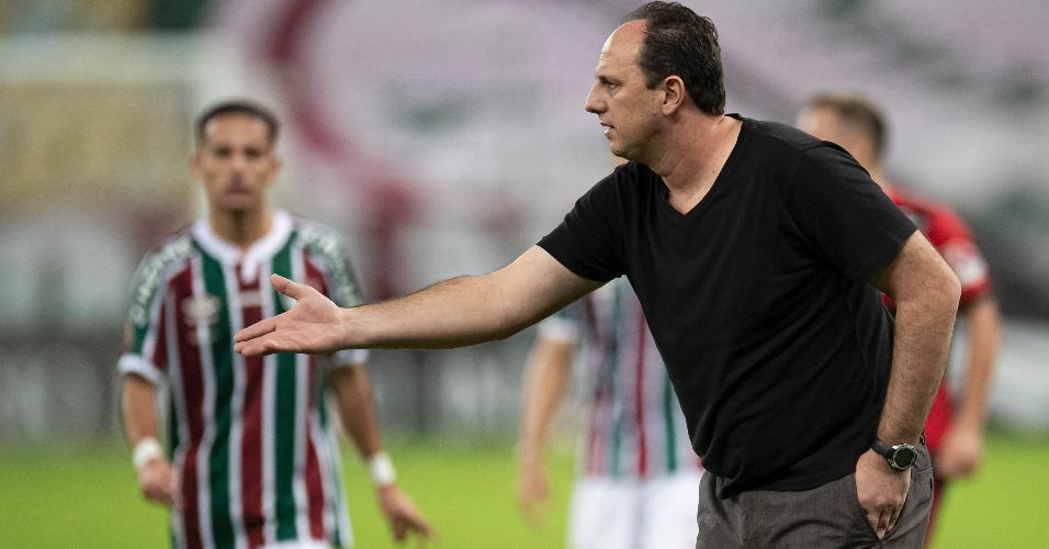 Rogério Ceni durante final do Campeonato Carioca no Maracanã