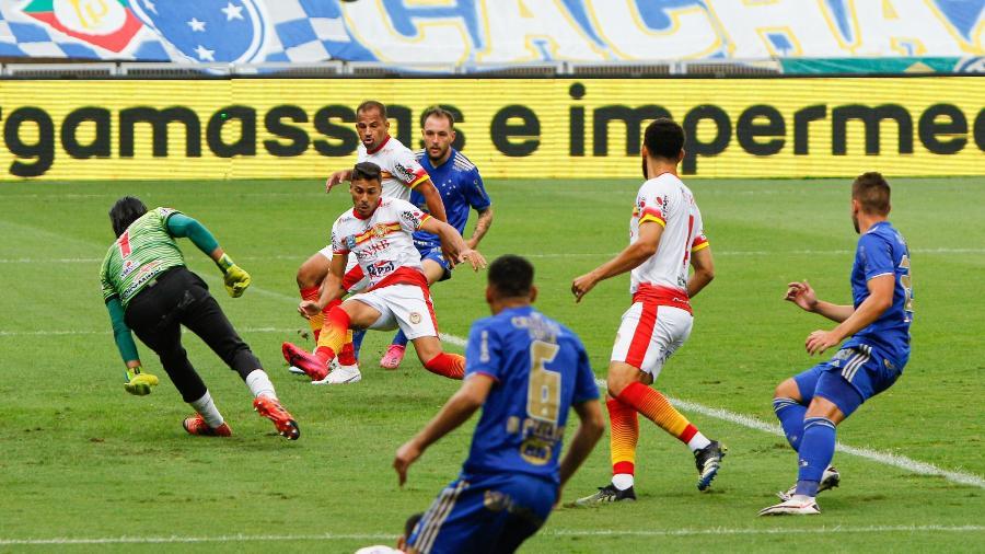 Cruzeiro recebeu o Juazeirense no Mineirão no duelo de ida pela 3ª fase da Copa do Brasil - VIVIANE MOREIRA/FUTURA PRESS/FUTURA PRESS/ESTADÃO CONTEÚDO