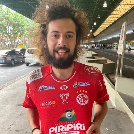 Youtuber vai fazer uma cobertura especial do duelo da equipe contra o São Paulo - Reprodução/Twitter