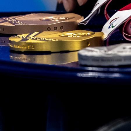 Medalhas dos Jogos Paralímpicos de Tóquio - Miriam Jeske/CPB