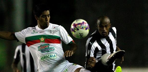 Airton será titular do Botafogo no duelo decisivo contra o Bragantino